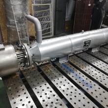 Проточный подогреватель воздуха до +120 С серии ЭНП мощностью 40 кВт 380 В
