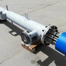 Проточный подогреватель серии ЭНП мощностью 150 кВт Ду200 Ру16 для нагрева термального масла до температуры +230 С