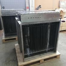 Канальные электрически нагреватели 110 кВт 380 В во взрывозащищенном исполнении 1ExeIIT2